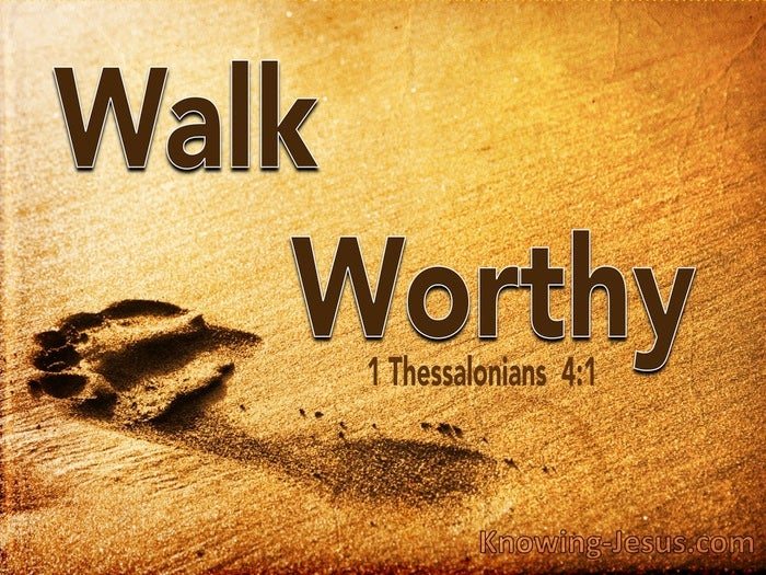 What Does 1 Thessalonians 4:1 Mean?